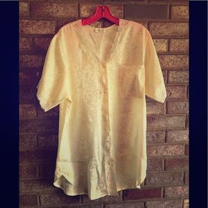 VTG Adonna sleep robe yellow